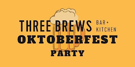 Three Brews Oktoberfest Party tickets