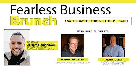 Fearless Business Brunch tickets
