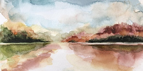 Virtual Painting Class:  Fall Landscape Reflections in Watercolour! tickets