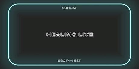 Healing Live tickets