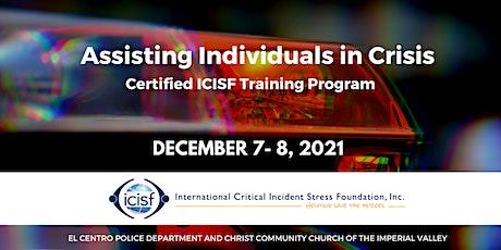Assisting Individuals in Crisis (Peer Support) entradas