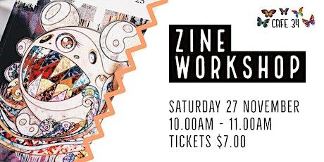 Zine  Workshop   Cafe 34 tickets