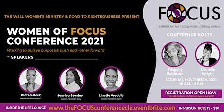 Women of FOCUS Conference 2021 tickets