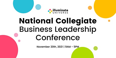 National Collegiate Business Leadership Conference - November 20th tickets
