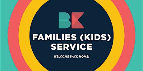 Sunday Families Service - (KIDS) 8AM tickets