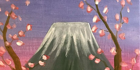 """Painting & Vino - """"Cherry Blossoms"""" tickets"""
