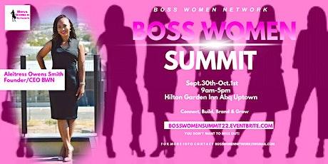 BOSS WOMEN SUMMIT tickets