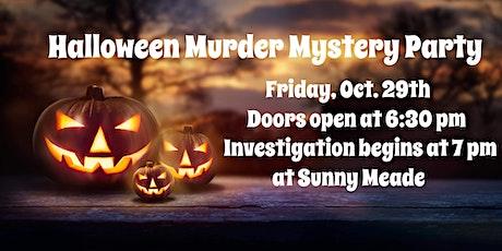 Halloween Murder Mystery Party tickets