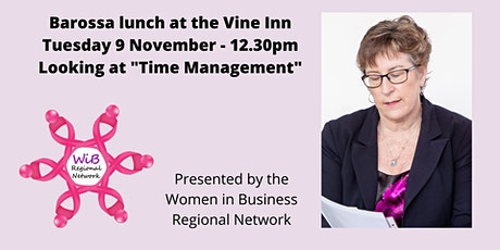 Barossa lunch - Women in Business Regional Network Tuesday 9/11/2021 tickets