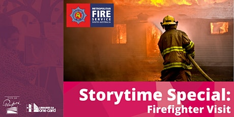 Storytime Special: Firefighter Visit tickets