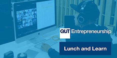 QUT Entrepreneurship Lunch & Learn | Stacey Head - she wear tickets