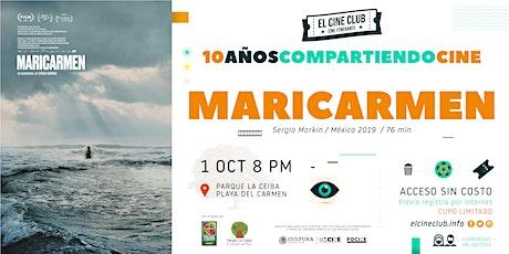 Maricarmen / 10 Años Compartiendo Cine boletos