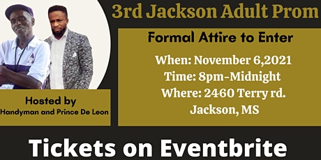 """3rd Jackson Adult Prom """"Night of the Nile"""" tickets"""