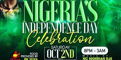 Official Nigeria's Independence Celebration, Raleigh, NC tickets