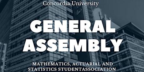 MASSA 2021-2022 General Assembly tickets