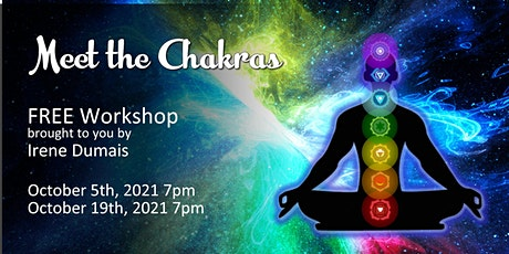 FREE Meet the Chakras by Irene tickets