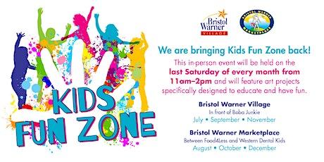 Bristol Warner Marketplace Kids Fun Zone tickets