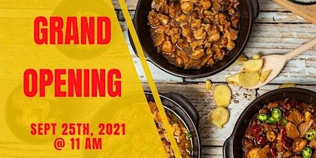 Yang's Braised Chicken Rice - Fairfax Grand Opening tickets