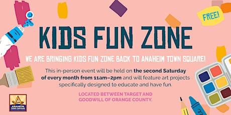 Anaheim Town Square Kids Fun Zone tickets