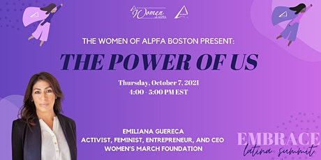Embrace, Latina Summit 2021 ‣ The Power of Us tickets