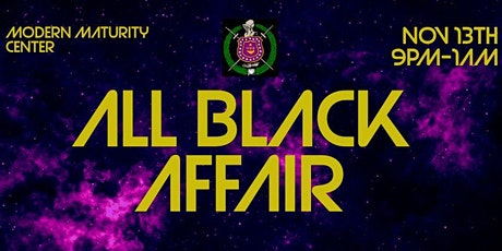 All Black Affair tickets
