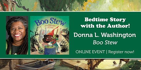 """Bedtime Story with the Author: Donna Washington """"Boo Stew"""" tickets"""
