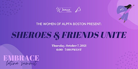 Embrace, Latina Summit 2021 ‣ Sheroes and Friends Unite tickets
