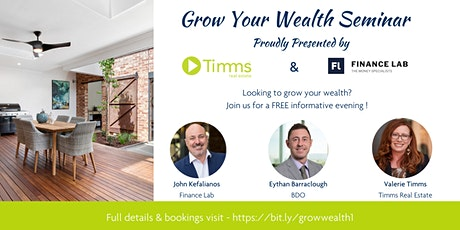 Grow Your Wealth Seminar tickets