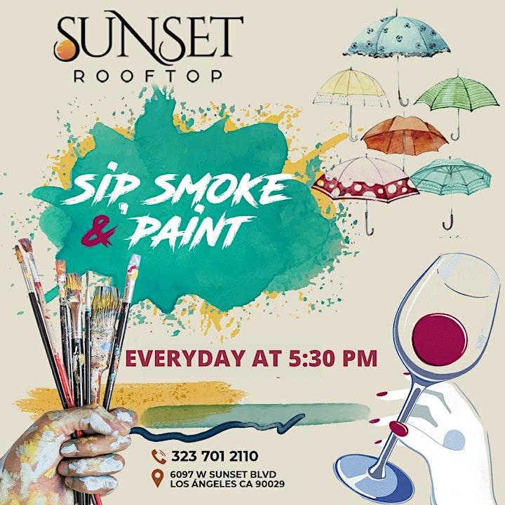 SIP, SMOKE & PAINT image