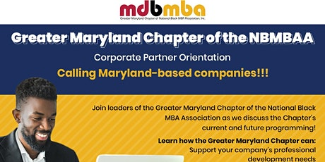 Greater Maryland Black MBA - Corporate Partner Interest Meeting tickets