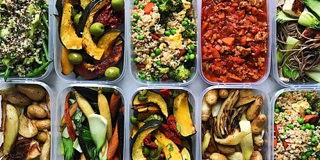 Sports Dietician food/meal prep demo and taste testing workshop tickets