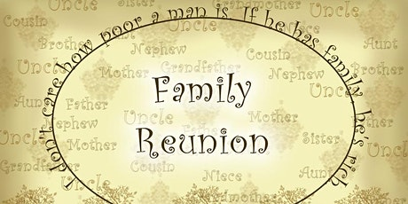JC's Family Retreat/Reunion tickets