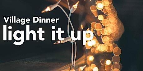 "A Village Dinner ""Light It Up"" tickets"