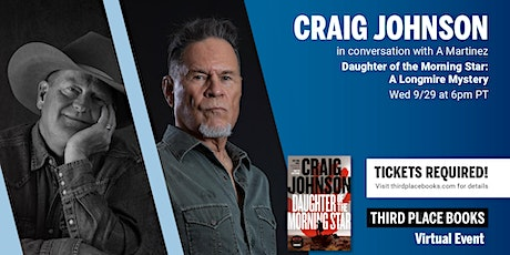 Craig Johnson with A Martinez — Daughter of the Morning Star tickets