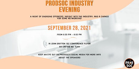 ProdSoc Industry Evening tickets