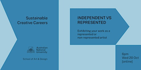 Sustainable Creative Careers: Independent vs represented artists biglietti