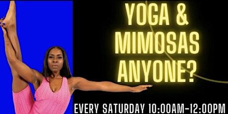 Yoga & Mimosas W/Kay tickets
