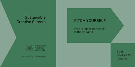 Sustainable Creative Careers: Pitch yourself! tickets