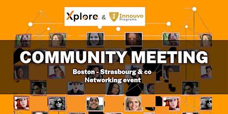 BOSTON - STRASBOURG: Community meeting tickets