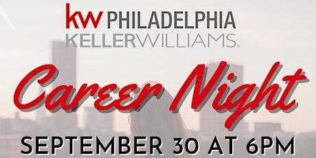 Career Night! Hosted by Keller Williams Philadelphia tickets
