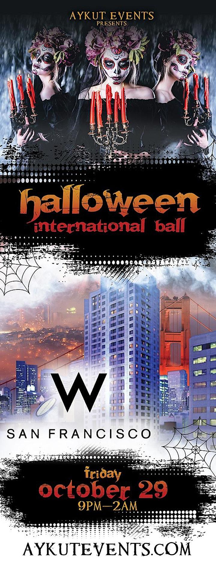W Hotel Halloween Party San Francisco image