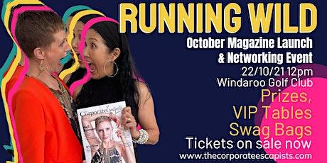 Running Wild - October Issue Launch tickets