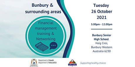 Bunbury - In-person Financial Management Training and Networking tickets