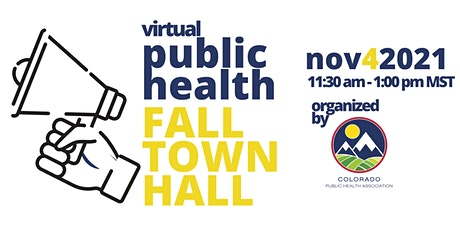 Public Health Fall Town Hall tickets