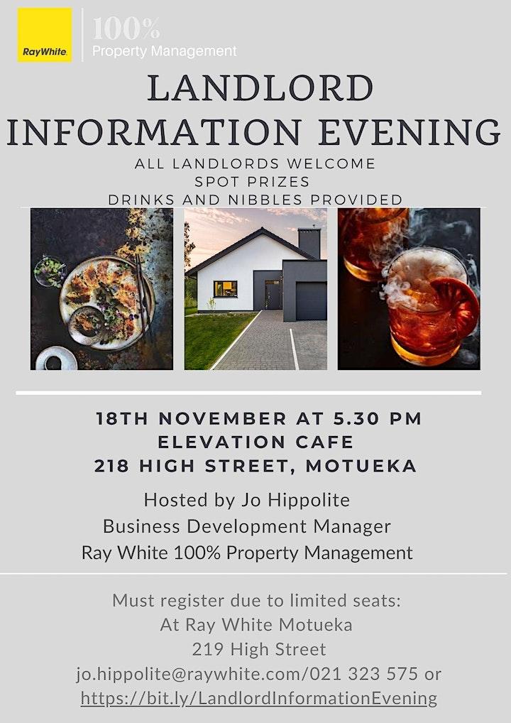 Landlord Information Evening image