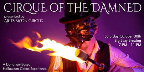 Cirque of the Damned  - A Circus Halloween Show tickets