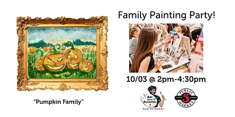 Family Painting Class $30 tickets