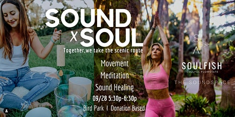Sound x Soul Meditation & Movement in the Park tickets