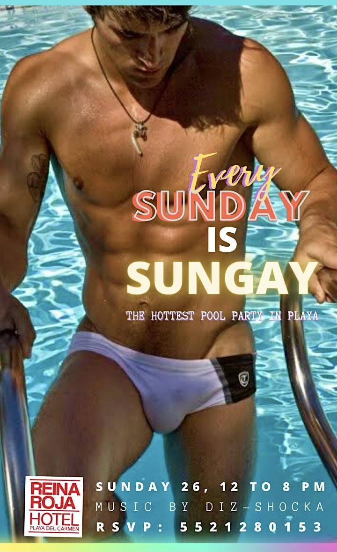 Every Sunday is  SunGay SunDay!! at  Reina Roja Hotel image