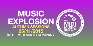 MUSIC EXPLOSION AUTUMN SESSIONS